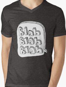 Blah Blah Blah Mens V-Neck T-Shirt