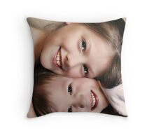 Peaches and Cream... Throw Pillow