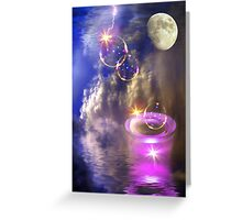 Heaven's Bubble Machine Greeting Card