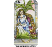 The High Priestess - Card iPhone Case/Skin