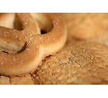 Freshly made cookies Photographic Print