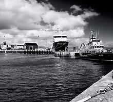 Lerwick Harbour by Richard Ion
