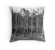 Forrest Through The Trees Throw Pillow