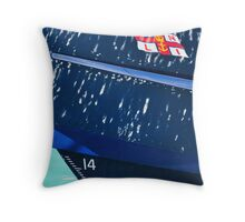 Lerwick Lifeboat Throw Pillow