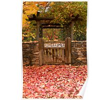 Autumn Gateway Poster