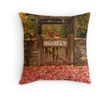 Autumn Gateway Throw Pillow