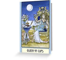 Queen of Cups, Card Greeting Card