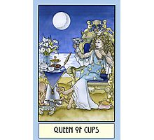 Queen of Cups, Card Photographic Print