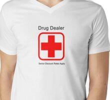 Senior Discount Rates Apply Mens V-Neck T-Shirt