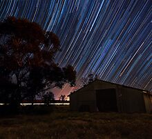 Back Shed Trails by Benjamin Watson Photography