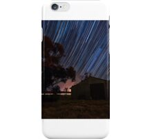 Back Shed Trails iPhone Case/Skin