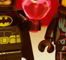 Batman Loves Wyldstyle Sticker