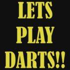 lets play darts by pablotguerrero