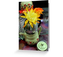 Bowled Under Greeting Card
