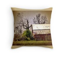 artistic remnants Throw Pillow