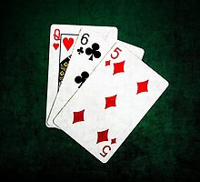 Blackjack 21 point - Queen, Six, Five by luckypixel