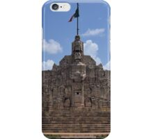 Monumento A La Patria iPhone Case/Skin
