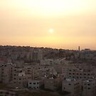 Sunset Over Amman by Marmadas