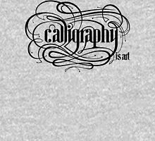Calligraphy is Art (Light bg) Unisex T-Shirt