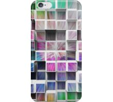 Colorful 3D Cubes 1 iPhone Case/Skin