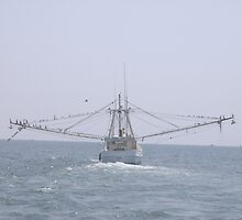 Shrimp Boat by Linda Bennett