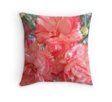 Times Three Throw Pillow