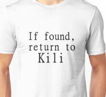 If found, return to Kili Unisex T-Shirt