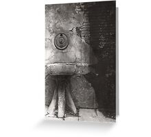 Tuscan Fountain, Italy Greeting Card