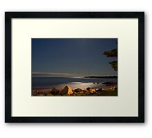 White Point At Night II Framed Print