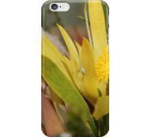 Yellow Marvel iPhone Case/Skin