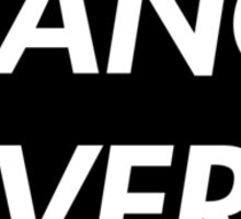 TRANCE FEVER (BLACK) Sticker