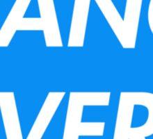 TRANCE FEVER (BLUE) Sticker