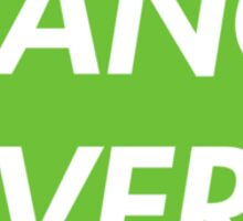 TRANCE FEVER (GREEN) Sticker