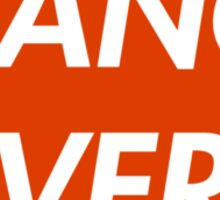 TRANCE FEVER (RED) Sticker