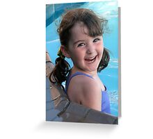 All smiles.... Greeting Card