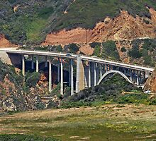 Bixby Bridge, Big Sur, California by Lenny La Rue, IPA