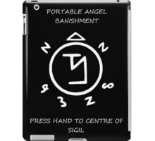 angel banishment iPad Case/Skin