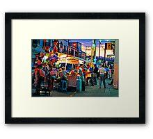 El Flamazo Framed Print
