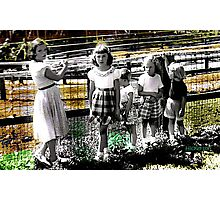 Summertime Cousins Photographic Print