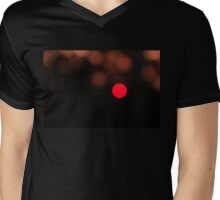 Sunset Pixel Mens V-Neck T-Shirt