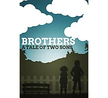 Brothers Photographic Print