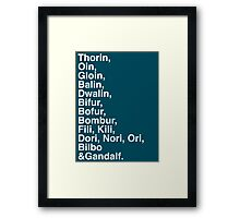 Thorin&co Framed Print