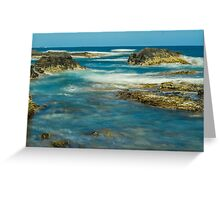 Off the Coast Greeting Card