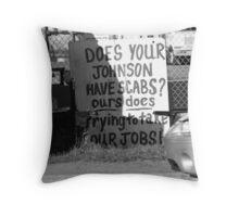 Johnson Throw Pillow