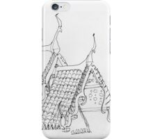 Thailand - roof details from the Marble Temple iPhone Case/Skin