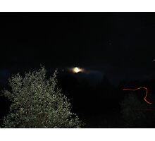 shooting star  Photographic Print