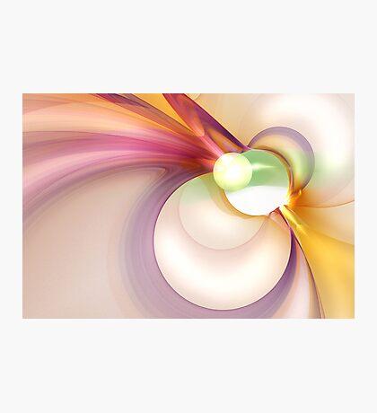 Sentiment of Kenetic Pastels Photographic Print