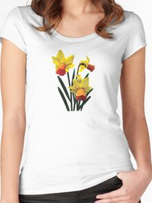 Three Daffodils Women's Fitted Scoop T-Shirt