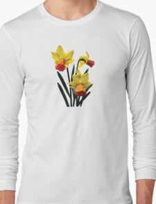 Three Daffodils Long Sleeve T-Shirt