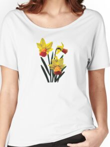 Three Daffodils Women's Relaxed Fit T-Shirt